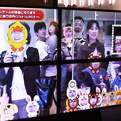 ナムコのアタリつきデジタルサイネージ@大阪、札幌