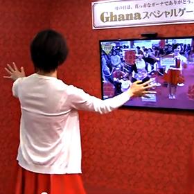 ひろしま菓子博2013 LOTTEブース ゲーム制作