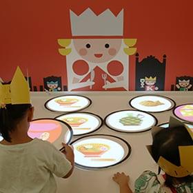 絵本ミュージアム2014 王様の食卓