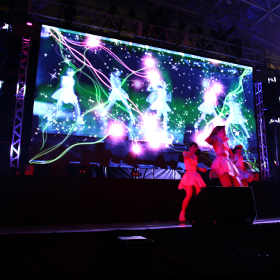 The Creators 2014 ライブ映像演出 & KAGURAパフォーマンス & etc.