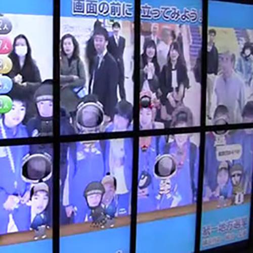 横浜市地方選挙啓発デジタルサイネージ
