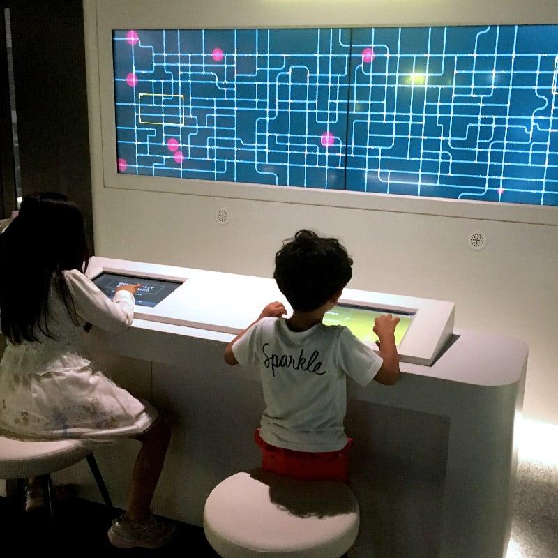 福岡市科学館 基本展示室「すいすいマイスター」