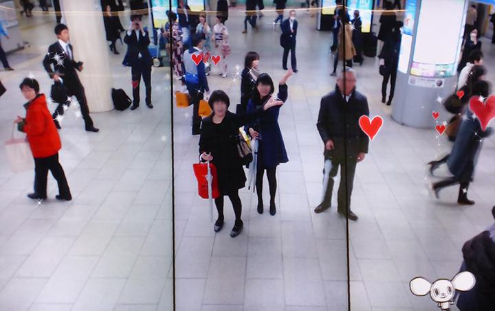 京都駅_ハート_キュービー